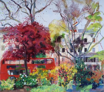 Red Bus, Eaton Square