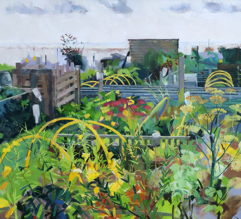 Allotments by the Sea